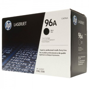 Original Hewlett Packard C4096A Black Toner Cartridge