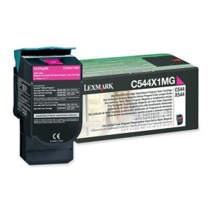 Original Lexmark C544X1MG Magenta Toner Cartridge