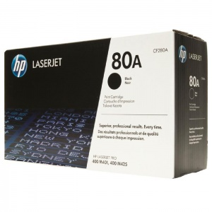 Original Hewlett Packard CF280A Black Toner Cartridge