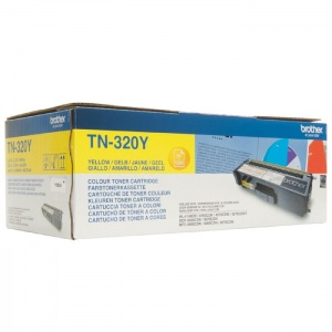 Original Brother TN320Y Yellow Toner Cartridge