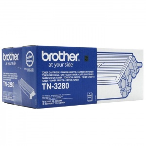 Original Brother TN3280 Black Toner Cartridge