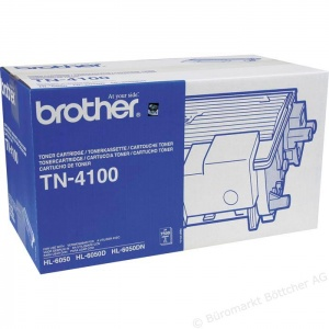 Original Brother TN4100 Black Toner Cartridge