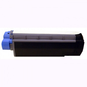 Compatible Oki 43872307 Cyan Toner Cartridge