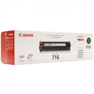 Original Canon 716 Black Toner Cartridge