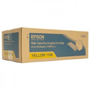 Original Epson S051158 Yellow Toner Cartridge