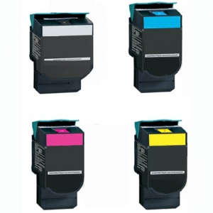 Remanufactured Lexmark C540H1MP Multipack