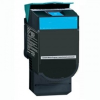 Remanufactured Lexmark C540H1CG Cyan Toner Cartridge