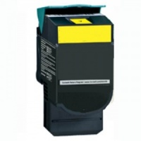 Remanufactured Lexmark C540H1YG Yellow Toner Cartridge